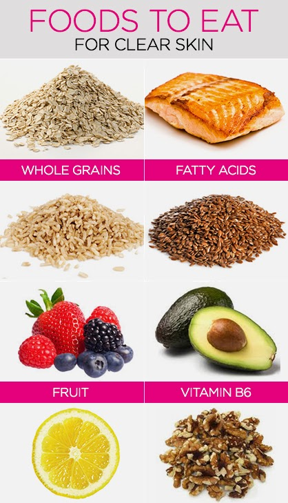 What Foods Are Good For Getting Rid Of Acne