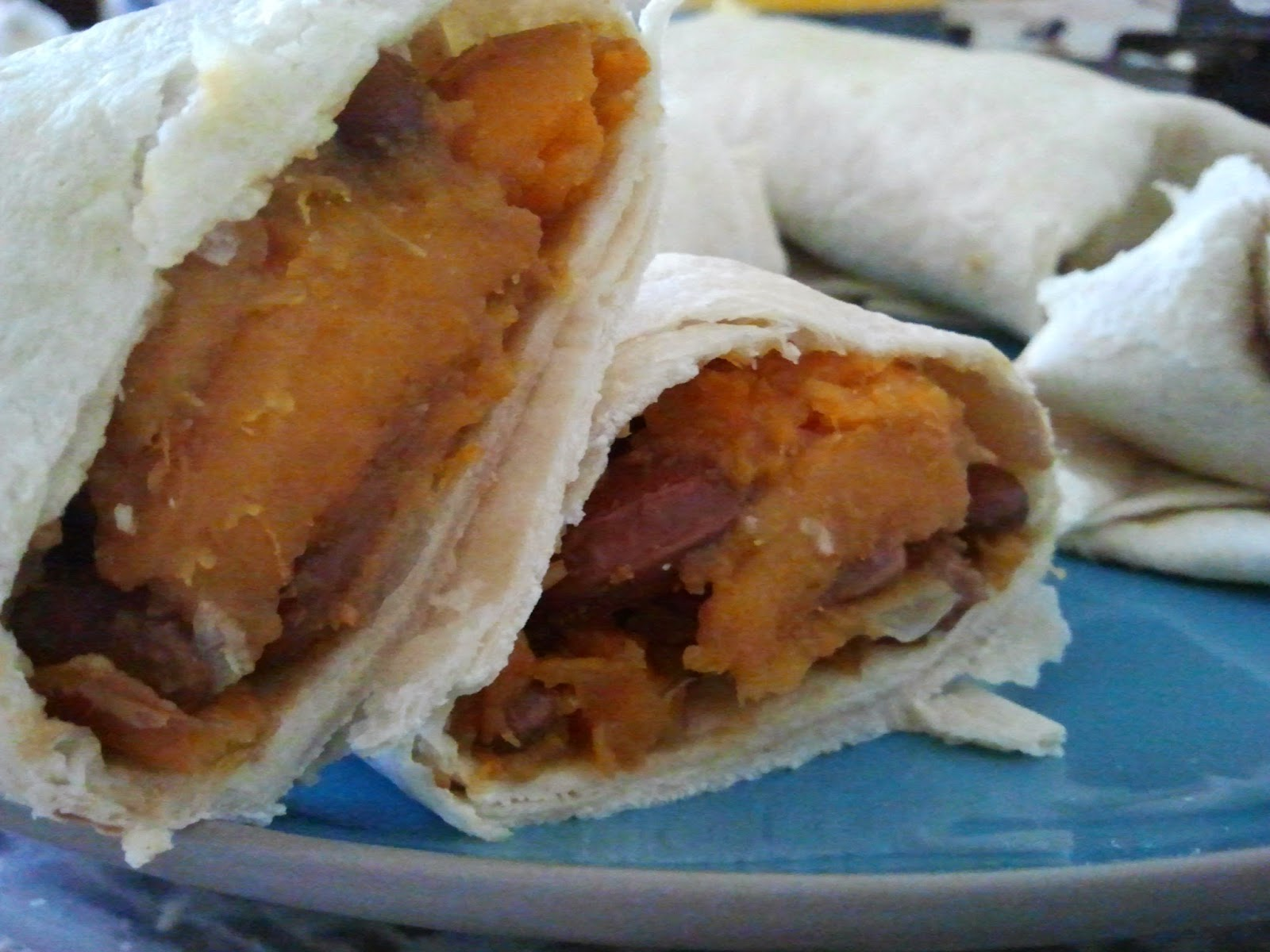 sweet potato burrito