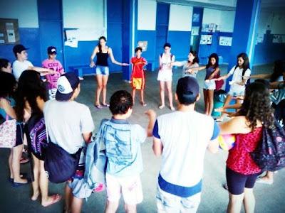Sala vencedora da Gincana da Pátria e Cidadania da Escola Yolanda ganha uma tarde recreativa na piscina
