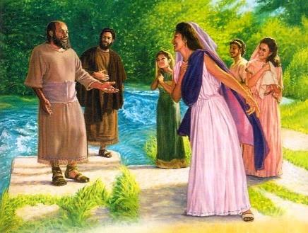 Resultado de imagem para Apostolo paulo e as Mulheres