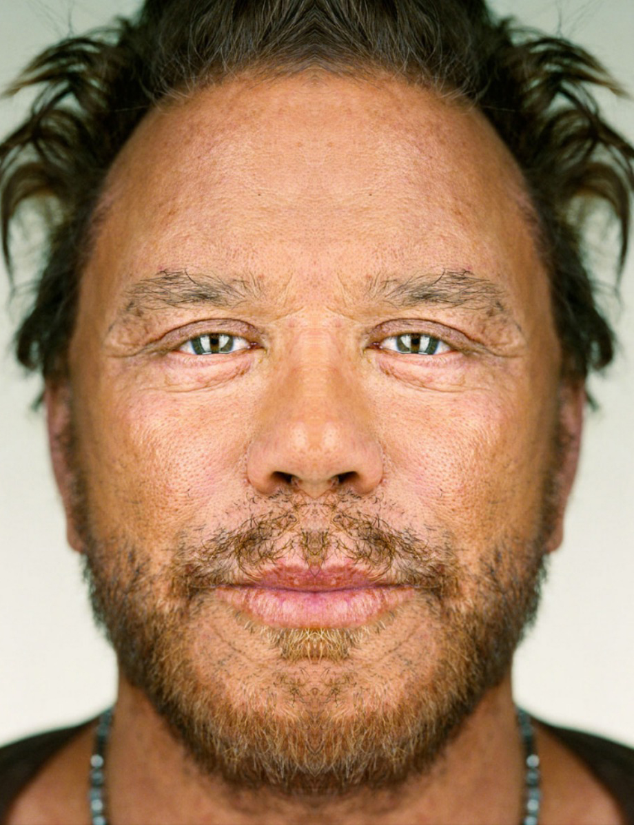 Mickey Rourke -Ekruop Yekcim | Face 2 Faces