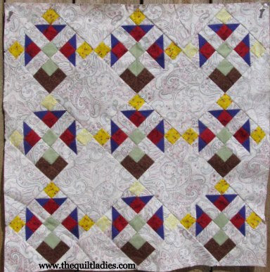 Turn your Quilt Fabric over
