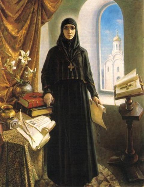 Библиотечная Фея: Первая женщина-библиотекарь на Руси - Ефросиния ...