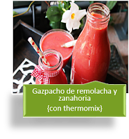 GAZPACHO DE REMOLACHA Y ZANAHORIA
