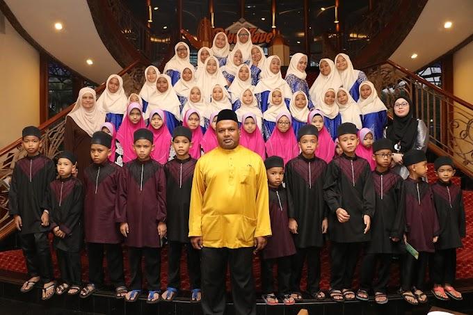 Iftar Amal Bersama Anak Yatim di Grand Blue Wave Hotel Shah Alam