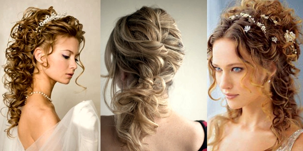 Wedding Hairstyles For Curly Hair!