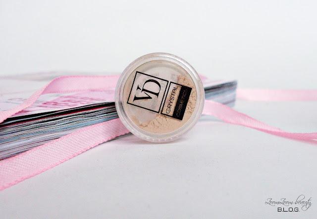 cosmopolitan box, beauty box, коробочка красоты, миниатюры косметики, Минеральные тени VD Crystal Cosmetics от VALERI-D, Минеральные тени VD Crystal Cosmetics от VALERI-D