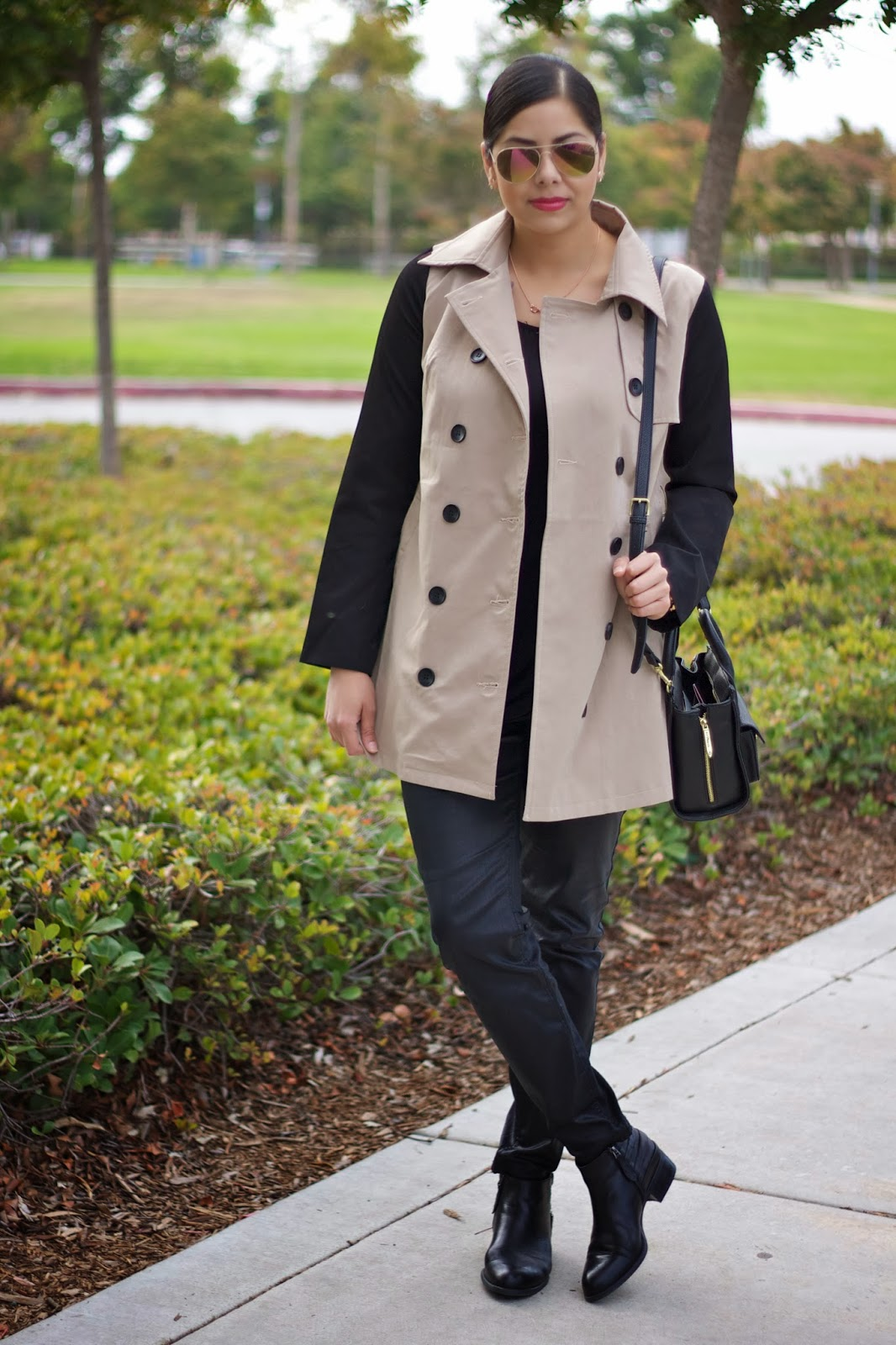 lulus.com trench coat