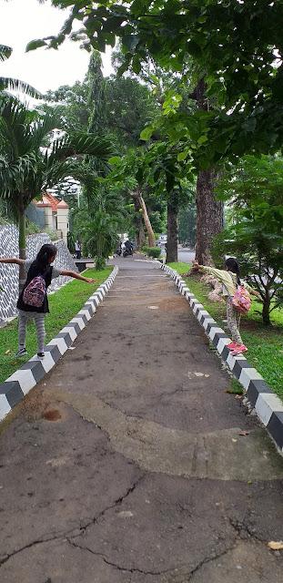 Berjalan Di Taman Agar Sehat Dan Bisa Tumbuh Dengan Optimal