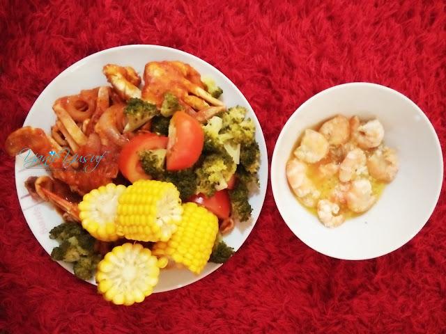 Resepi Seafood Ala Shell Out Homemade , shell out, seafood, Resepi Seafood Ala Shell Out Homemade  mudah dan ringkas
