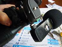 microfono esterno sulla videocamera