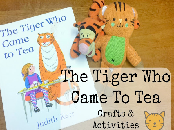 Book Of The Month - The Tiger Who Came To Tea