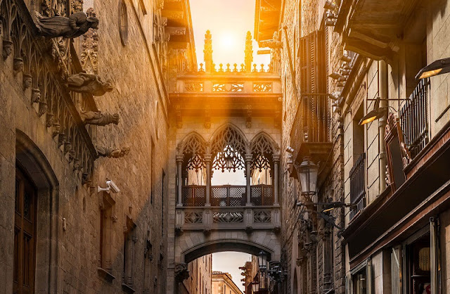 Primeiro dia em Barcelona