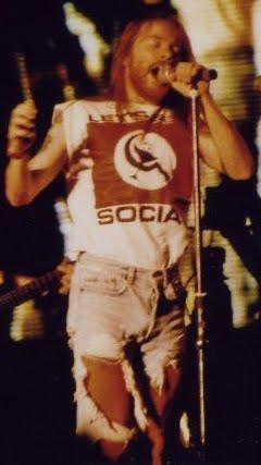 Axl Rose 'Let's Get Social' t-shirt. PYGear.com