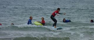Asturias, Playa de Rodiles, Rodiles Surf School.