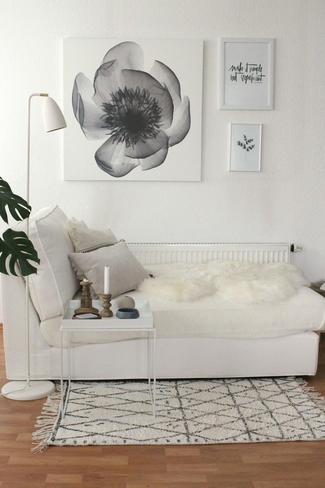 INTERIOR | Neues im Wohnzimmer - es wird heller mit neuer Bilderwand ...