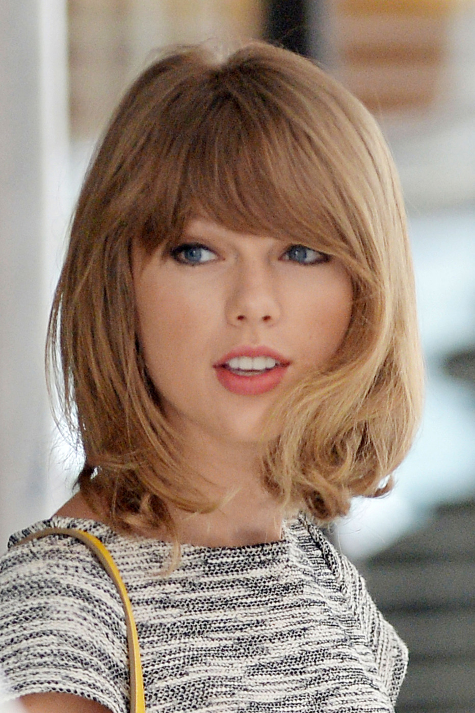 frisur damen 2016 taylor swift bob frisuren versuchen im. Black Bedroom Furniture Sets. Home Design Ideas