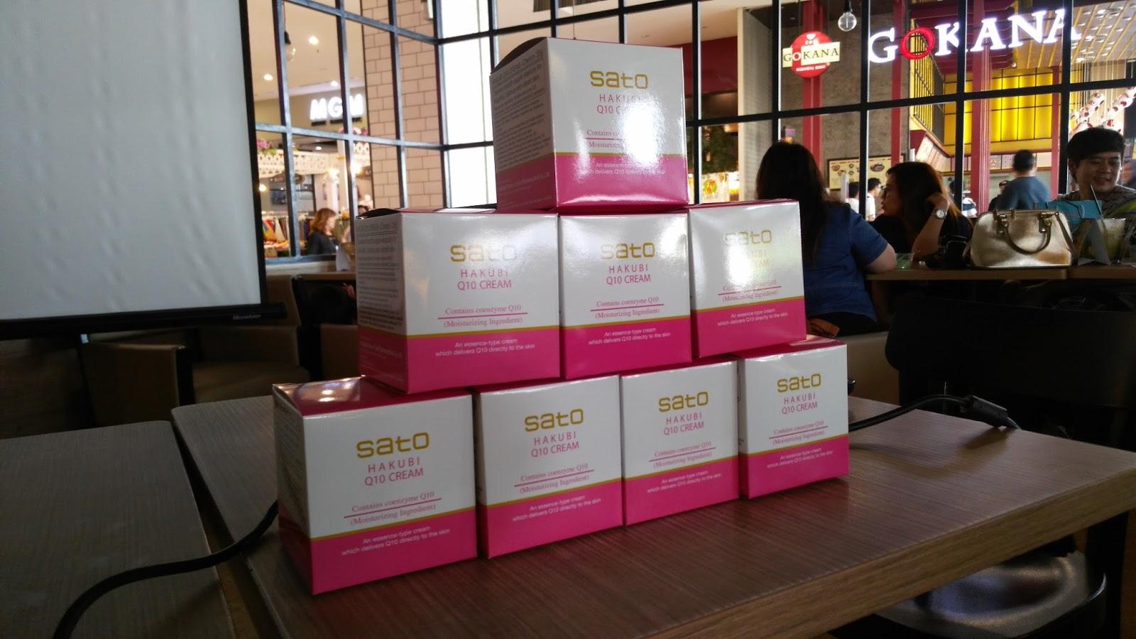 Casual Blogger Gathering Ala Sato Hakubi Q10 Cream X Dan Store Pastaron Di Kopilatinum Acara Berlangsung Sangat Santai Akrab Penyelenggara Memang Sengaja Tidak Mengundang Terlalu Banyak Orang Supaya Lebih Intimate