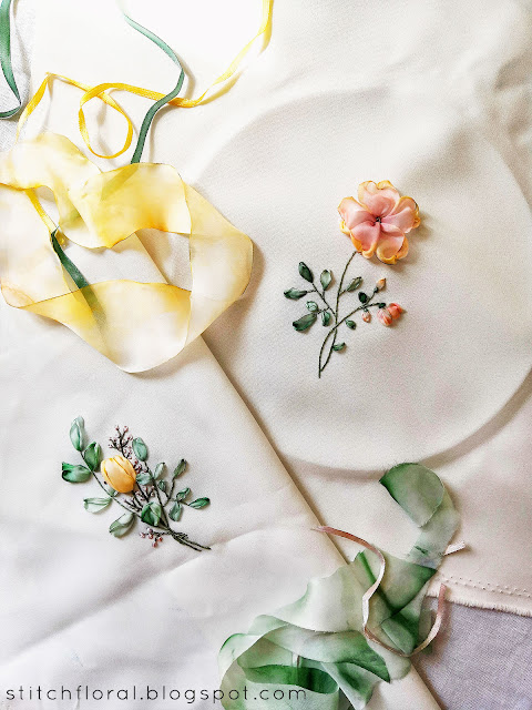 ribbon embroidery recap