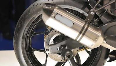 Knalpot Motor Meletup di motor matic dan manual