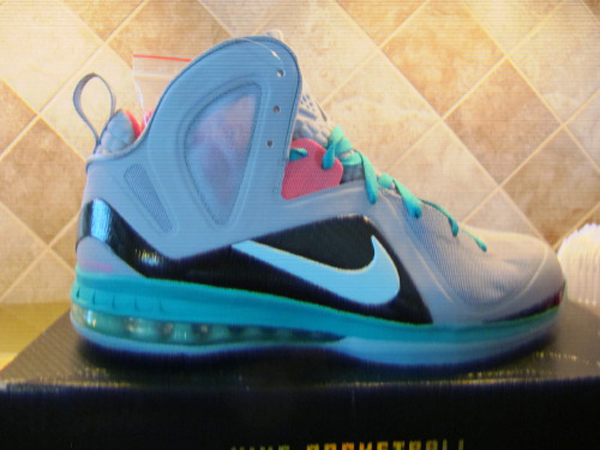 pretty nice d2217 09ad0 Nike LeBron 9 Elite Wolf Grey Mint Cindy-New Green-Pink Flash Style     516958-001. Summer 2012
