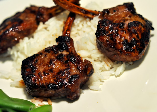 Asian-Style Lamb Rib Chops | Taste As You Go