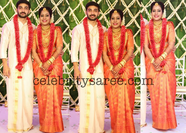 Sreejith Vijay and Archana Marriage