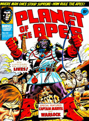 Marvel UK, Planet of the Apes #48