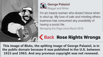Public Domain image of Bluto that George Palaziol could use legally