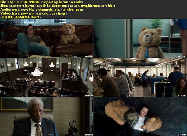 Descargar Ted 2 (EXTENDIDA) Latino por MEGA.