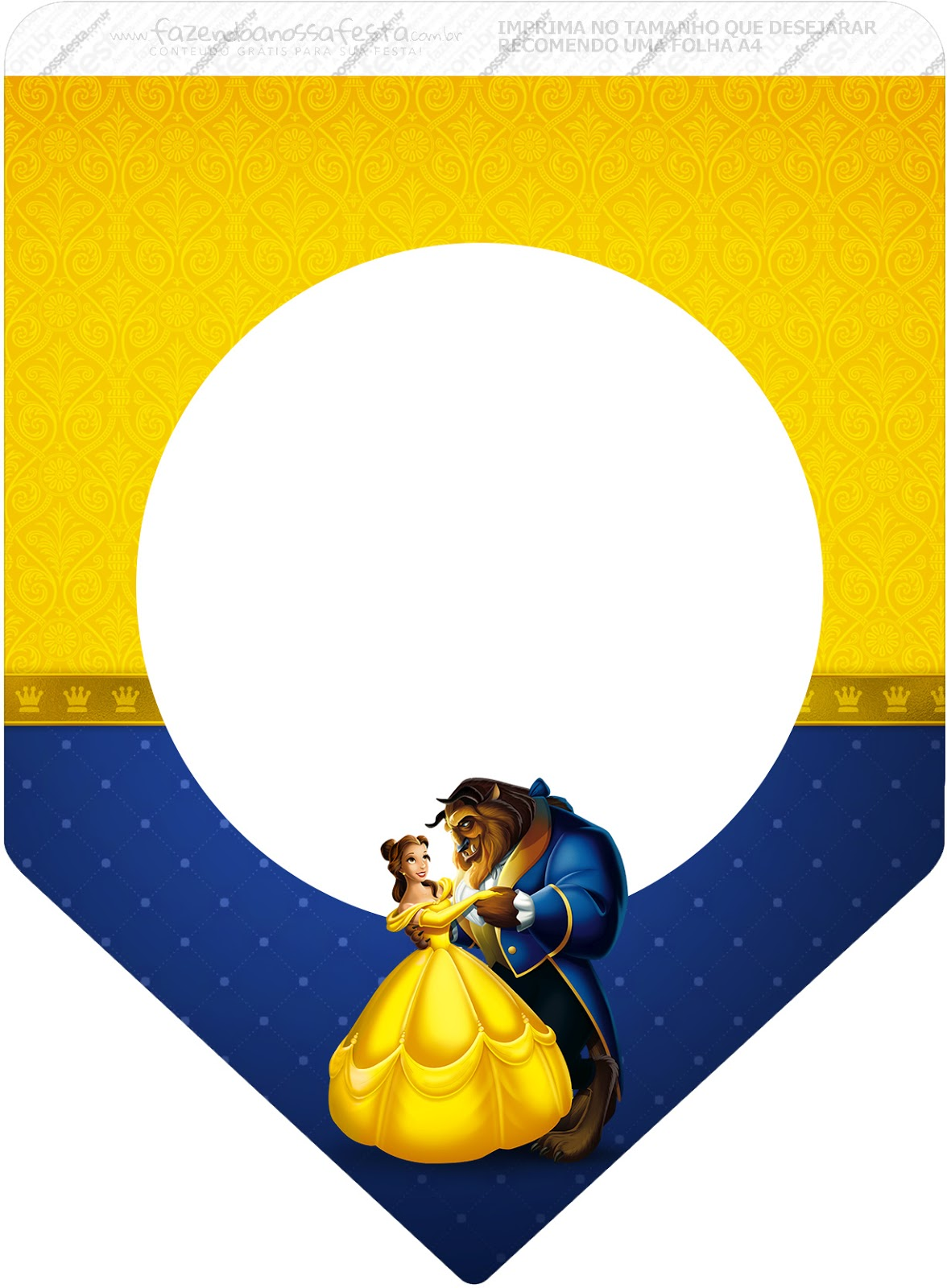 Beauty And The Beast Party Free Party Printables Oh My