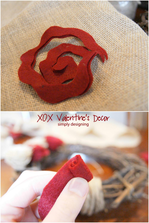 XOX+Decor+Flower+Collage+a XOX Valentine's Decor {Pottery Barn Inspired} 13
