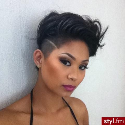 Cool Awesome Short Haircuts Images And Video Tutorials Short Hairstyles For Black Women Fulllsitofus