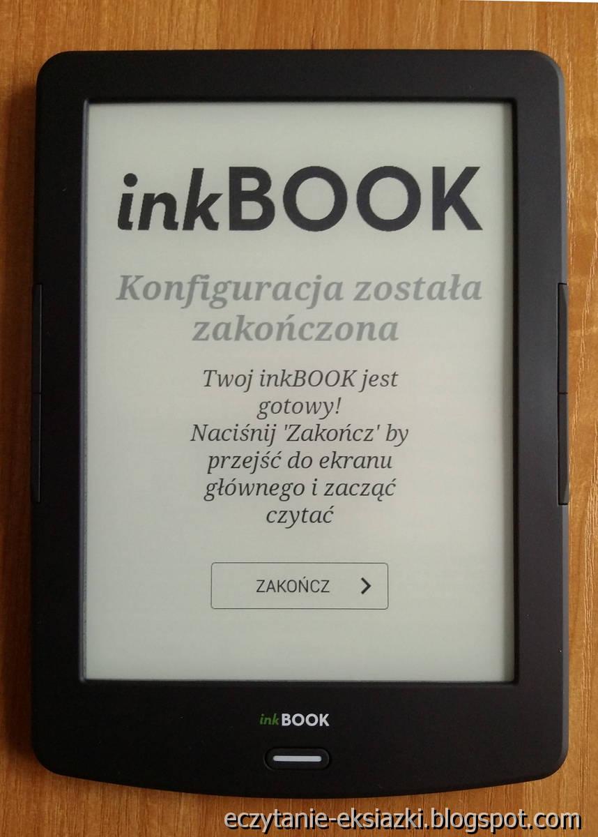InkBOOK LUMOS - pierwsze uruchomienie