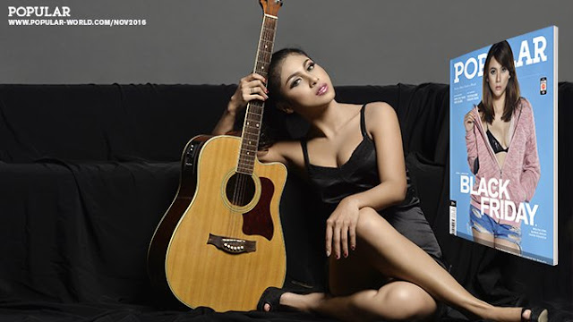 Download Foto Barbie Nouva, Miss POPULAR Voice of Angels Winner  - POPULAR 346 Edisi November 2016 | www.insight-zone.com