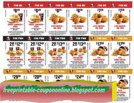 Kfc coupons 2019 nz