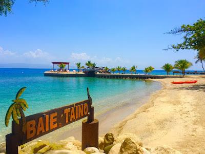 Plage de Moulin sur Mer- Baie Taino en Haiti