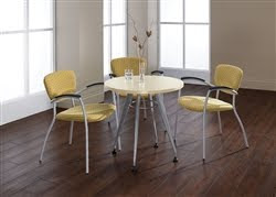 Modern Round Bistro Table