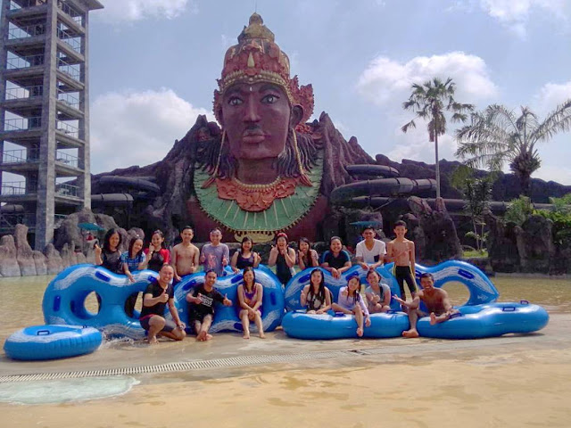 foto pandawa water world sukoharjo