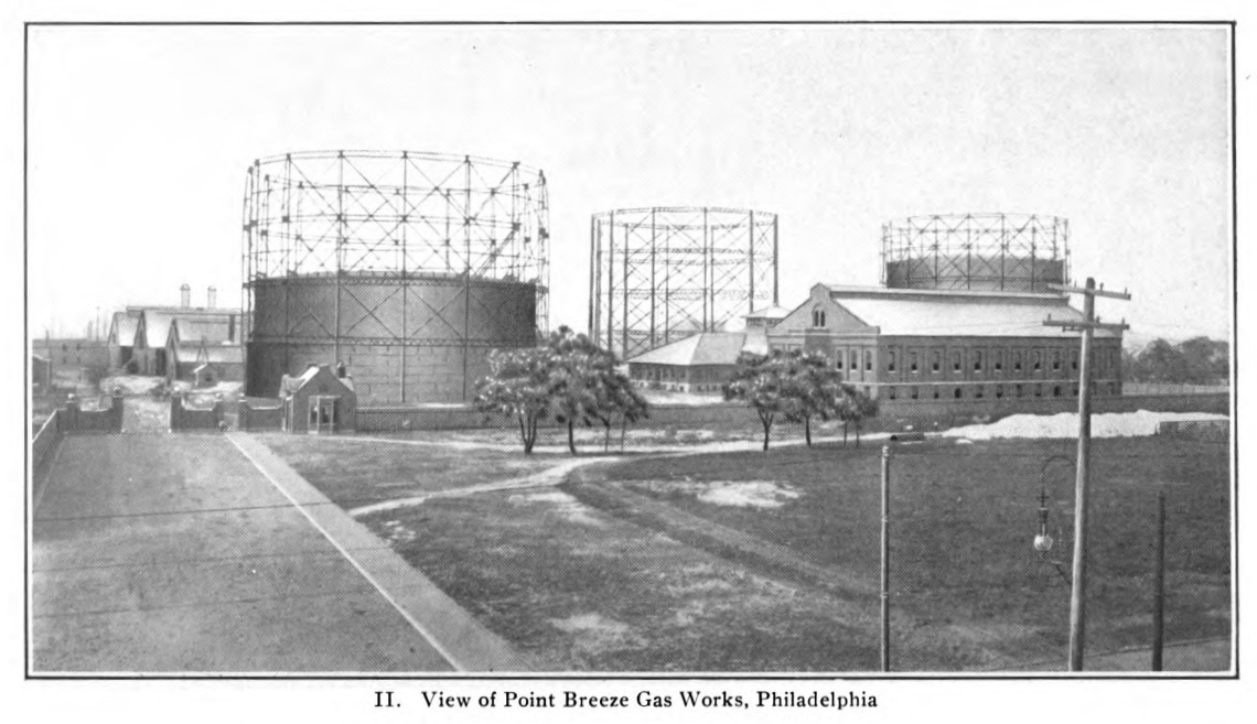 Philly Stuff Point Breeze Gas Works 1904