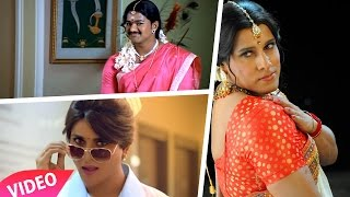 Celebrities dressed as the opposite sex – Tamil Male Actor in Female Getup