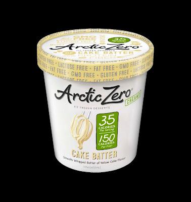 arctic zero lactose free whey protein ice cream fit frozen dessert Cake Batter