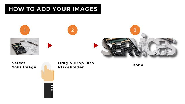How to Add Your Images into image placeholder for Free PowerPoint Template