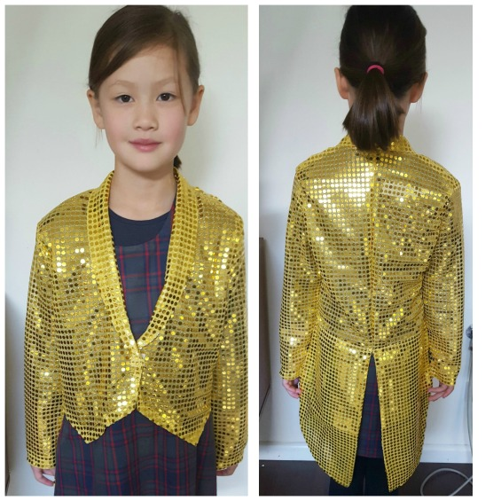gold sequin top coat with tails jacket www.loweryourpresserfoot.blogspot.com
