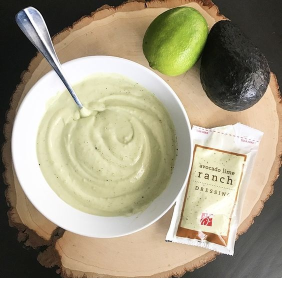 Avocado Lime Ranch Salad