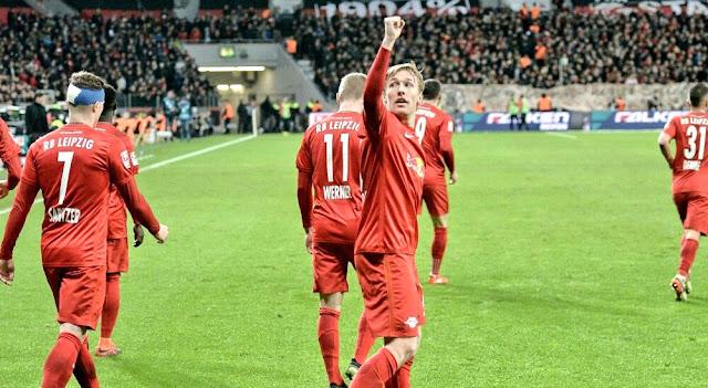 RB Leipzig mostra que pode se manter na parte de cima da Bundesliga