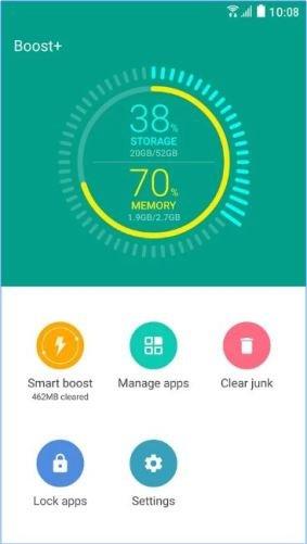 Boost+ ottimizza le prestazioni di ogni Android, anche datato.