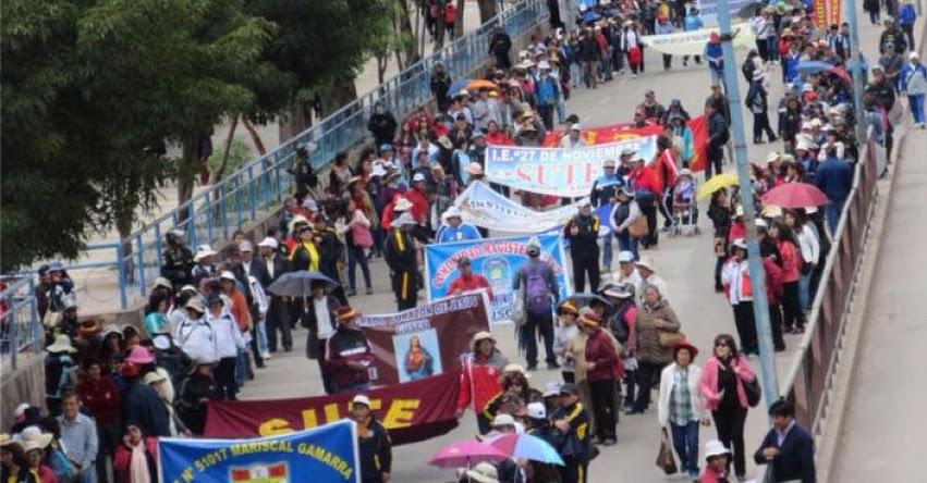 El Gobierno denunciará a quienes perturben retorno de maestros a las aulas, informó el MININTER - www.mininter.gob.pe