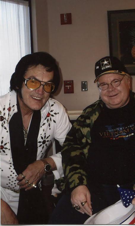 A Promotional gymic ELVIS PRESELY AND (ME) GREG PAYNE