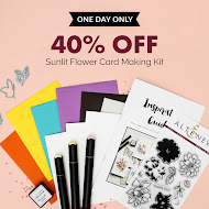 40% off Sunlit Flower Card Kit